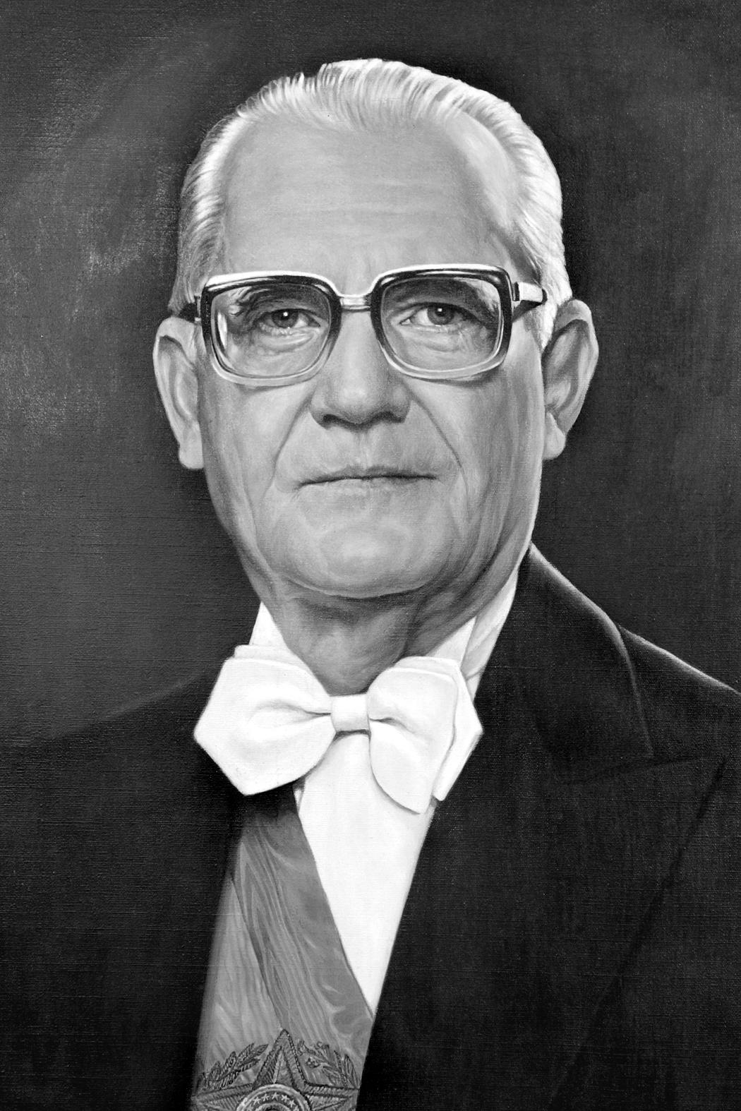 Depiction of Ernesto Geisel