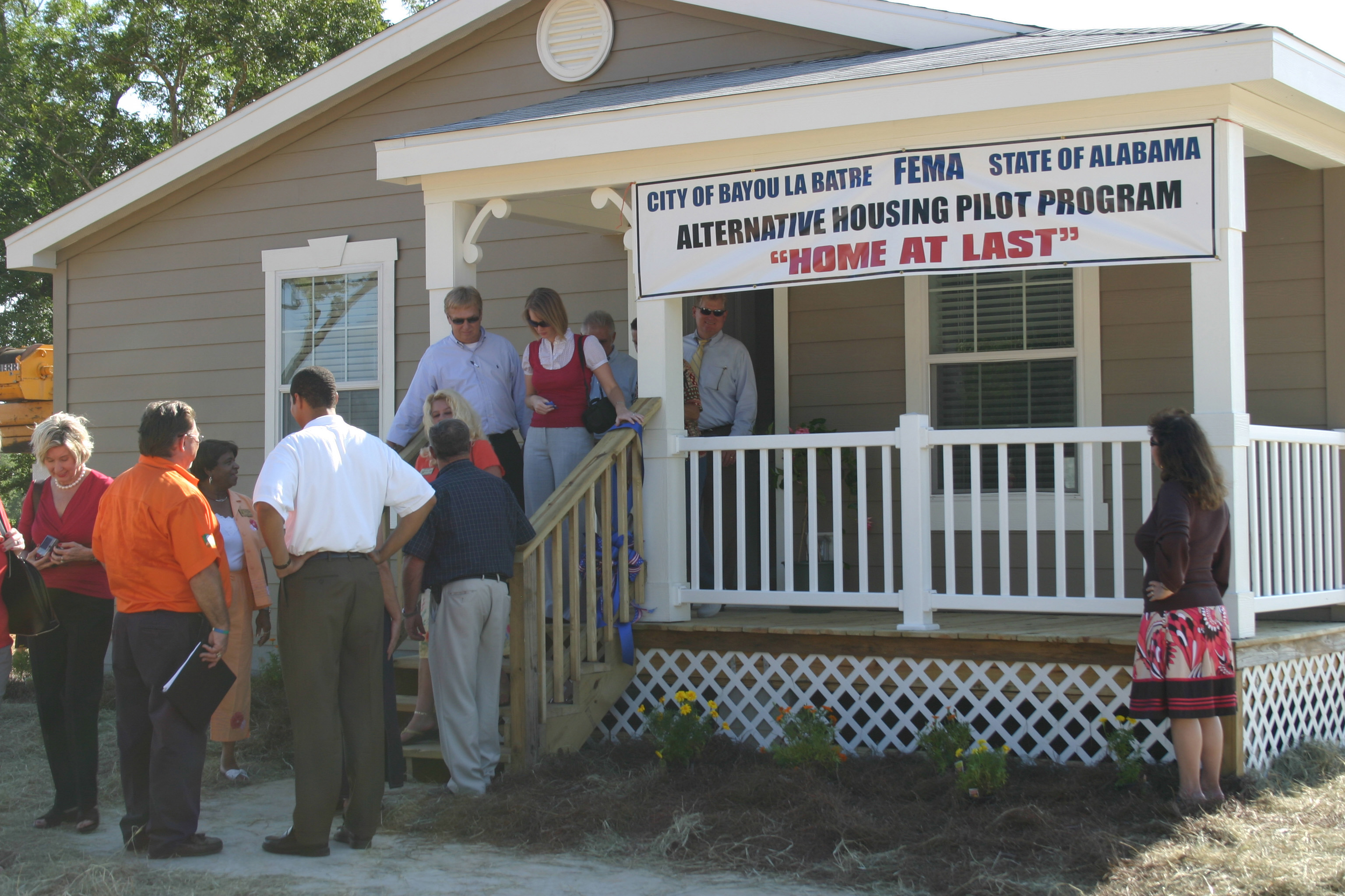 File fema 45041 home funded by the alternative housing for Alternative housing
