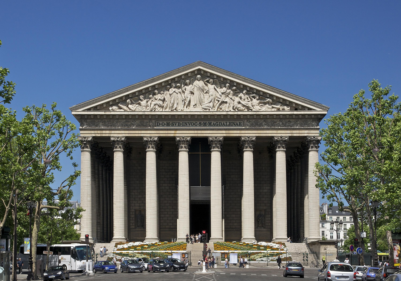 File:Fa%C3%A7ade_fronton_madeleine_Paris on Neoclassical Architecture