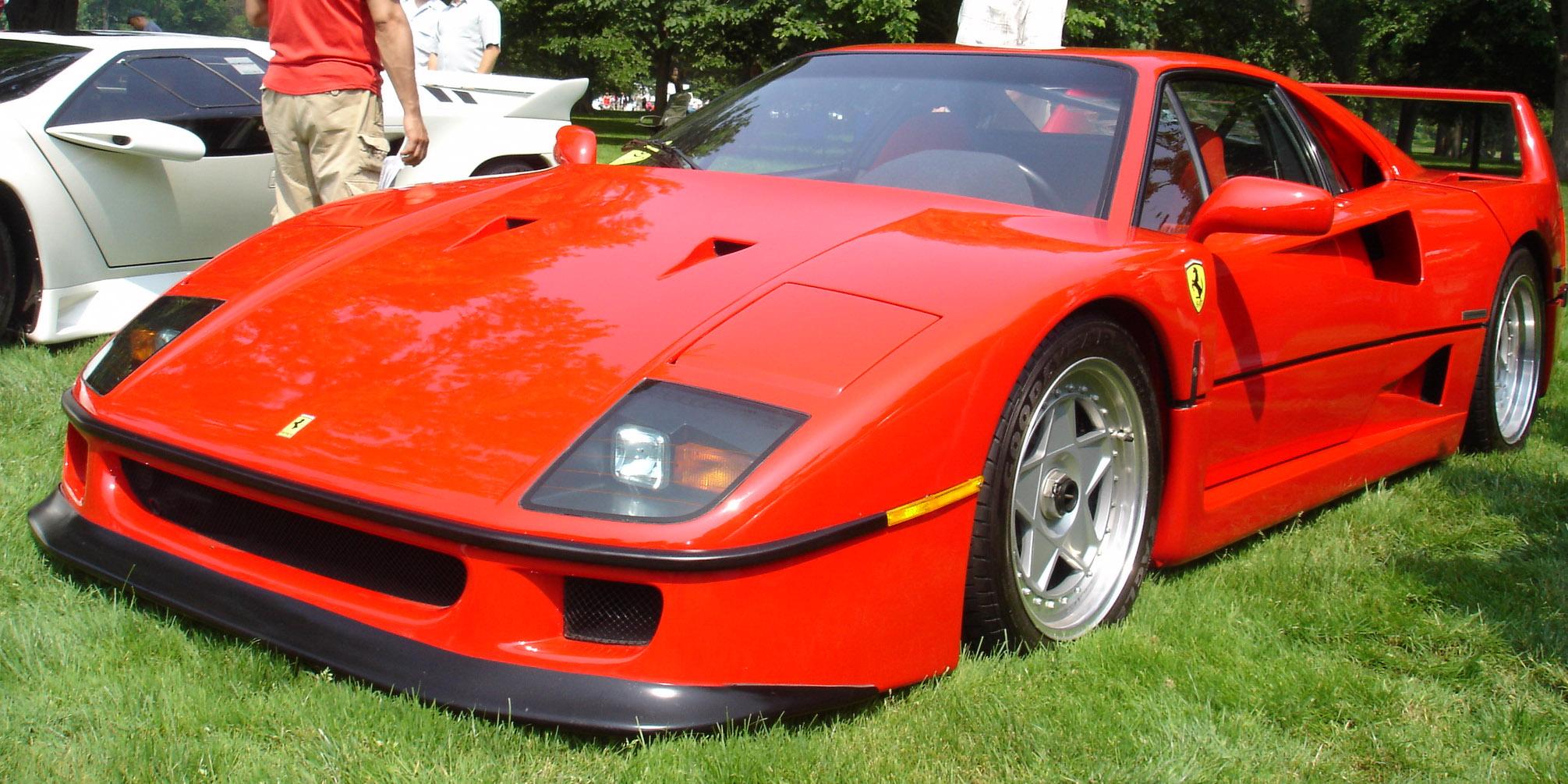 5eefe32f9 Ferrari F40 - Wikipedia, la enciclopedia libre