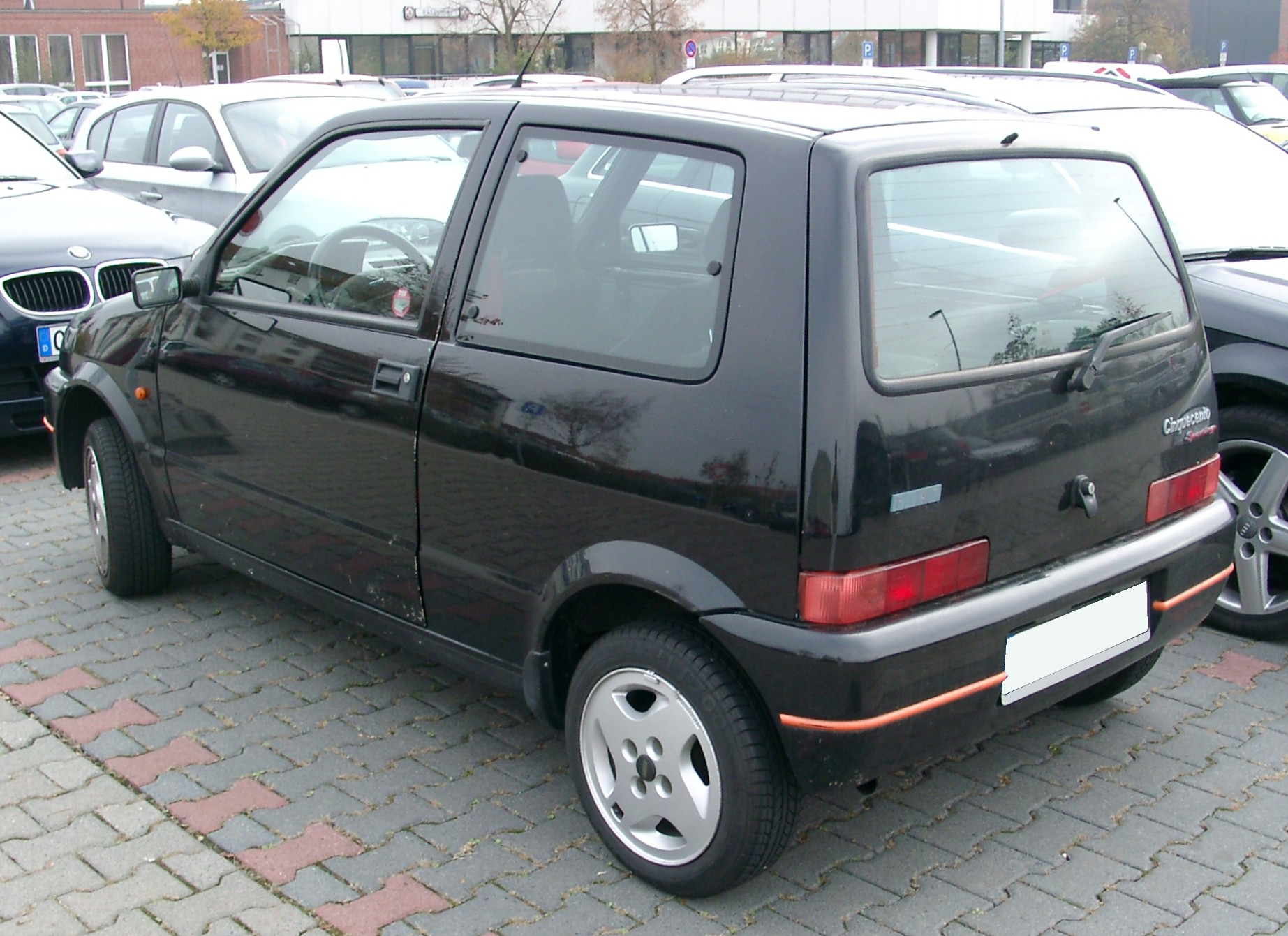 File:Fiat Cinquecento rear 20071031.jpg