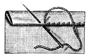 Fig. 8. Hemming-stitch