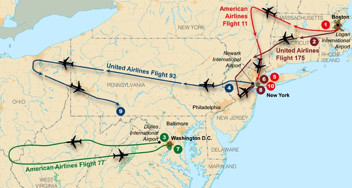 File:Flight paths of hijacked planes-September 11 attacks.jpg