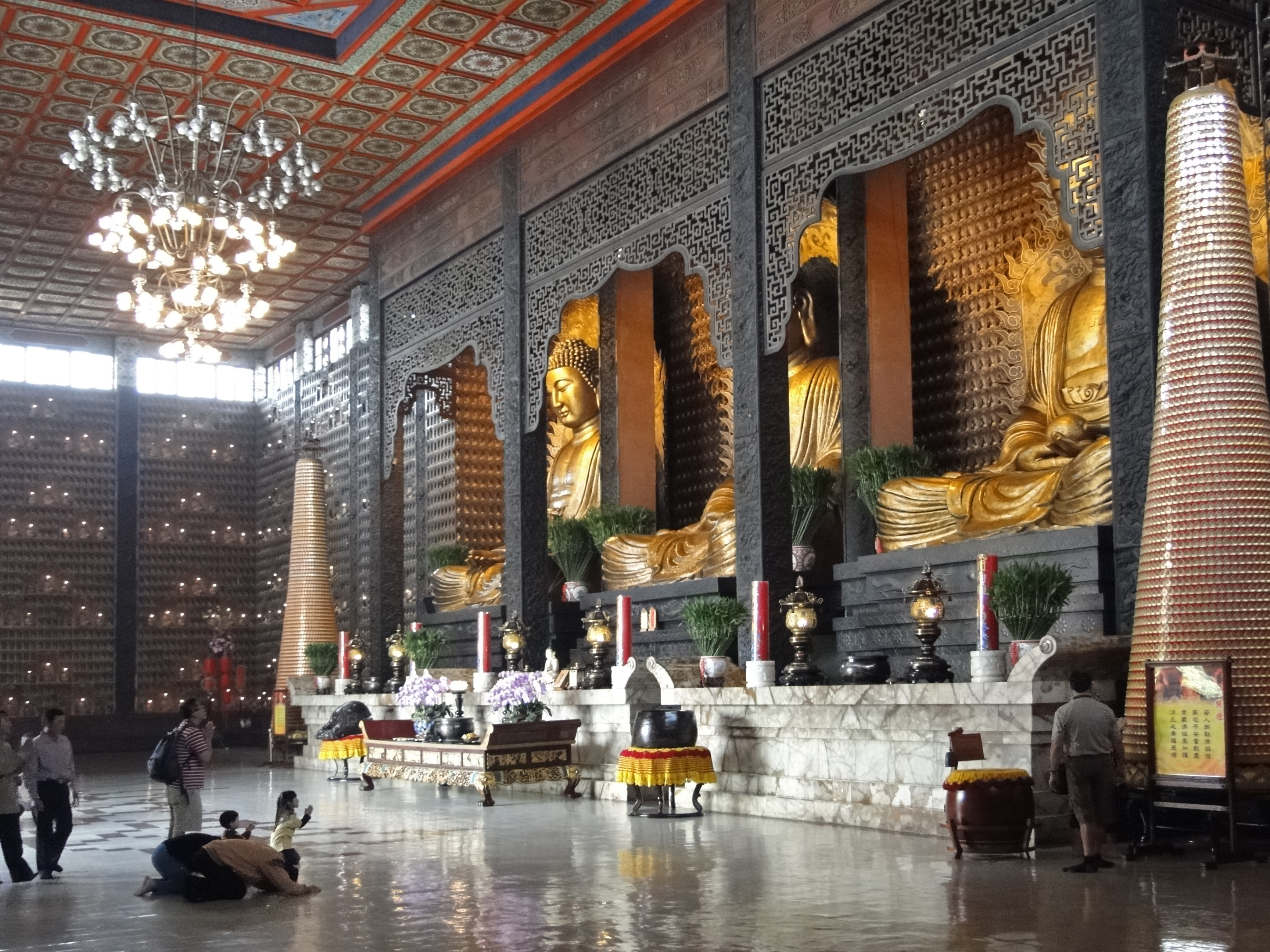 Image result for fo guang shan monastery main hall