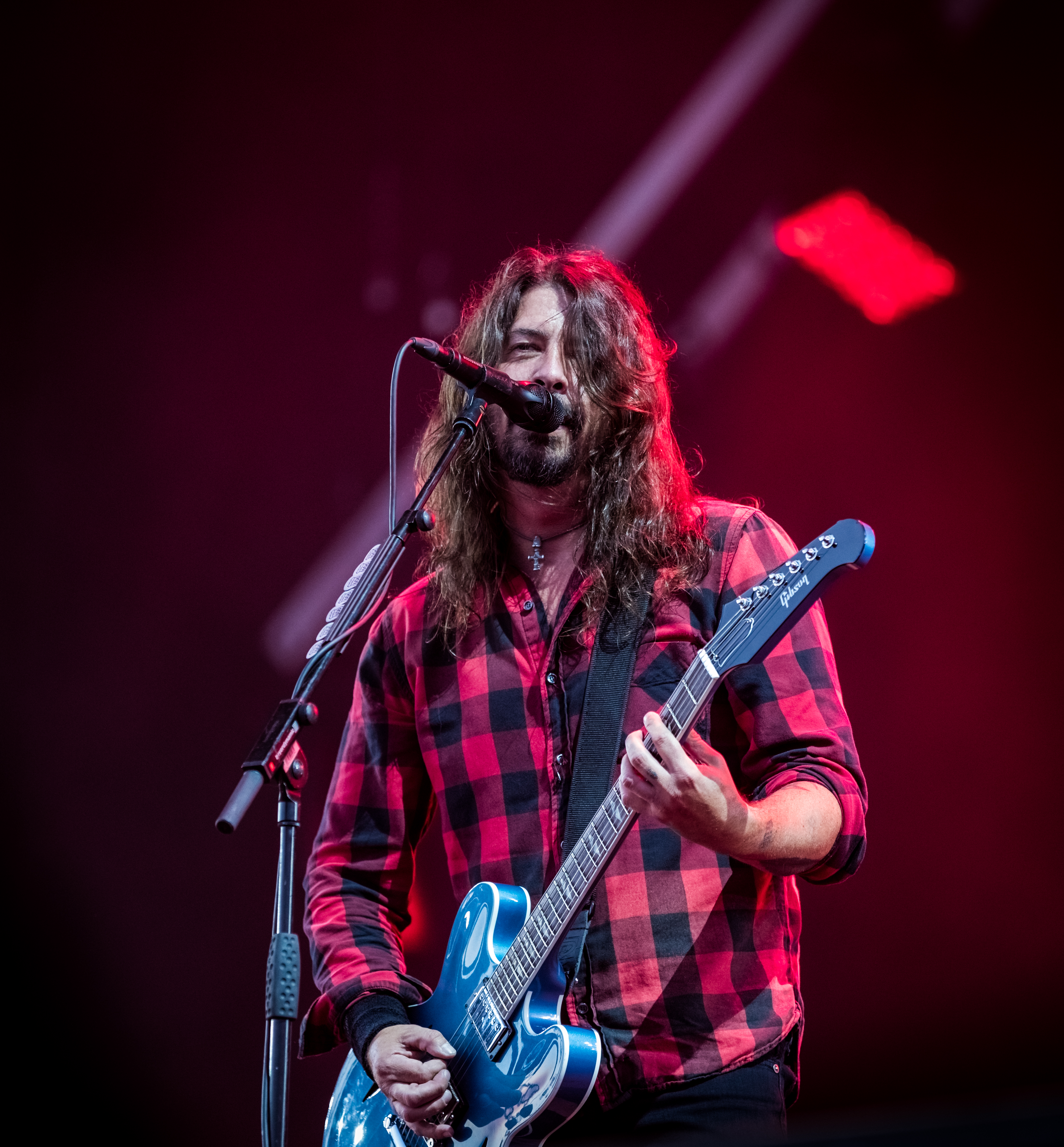 Grohl performing in June 2018