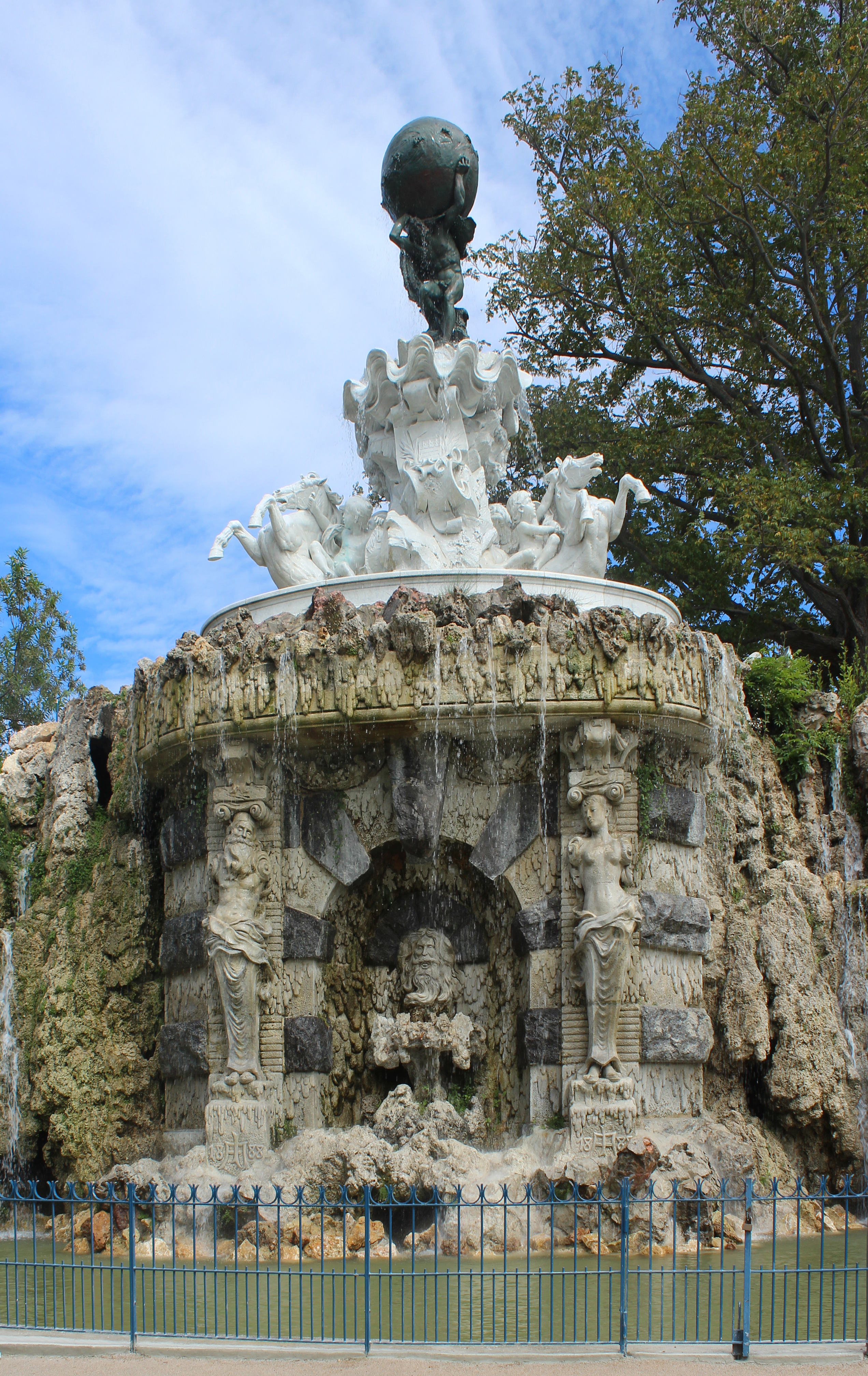 In And Out Beziers file:fountain of titan, béziers - wikimedia commons