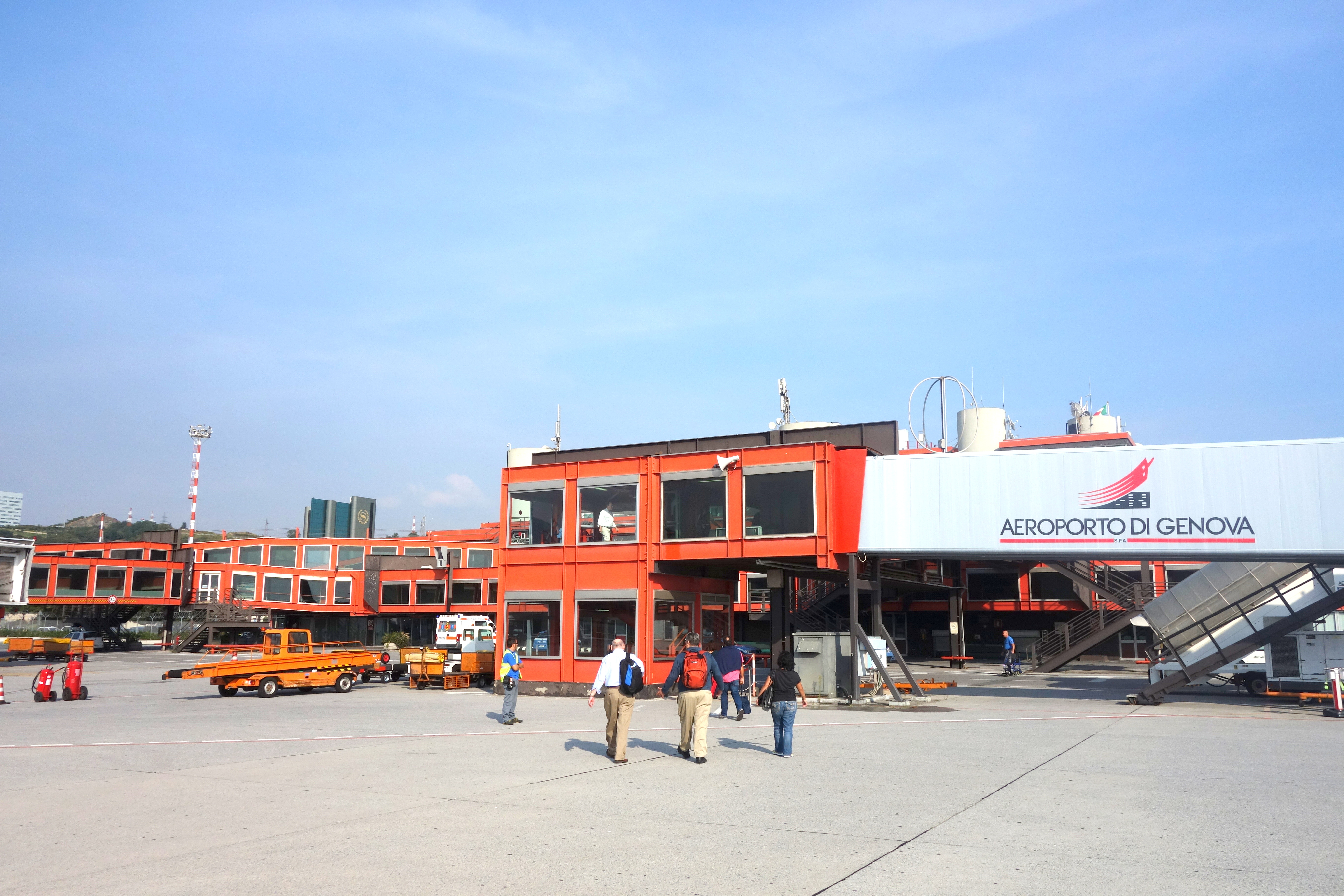 Genoa Italy Airport