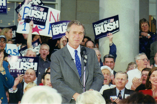 File:George W. Bush in Concord, New Hampshire.jpg