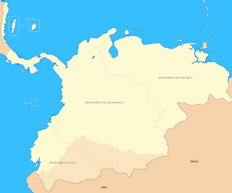 Imagenes Del Mapa De La Gran Colombia