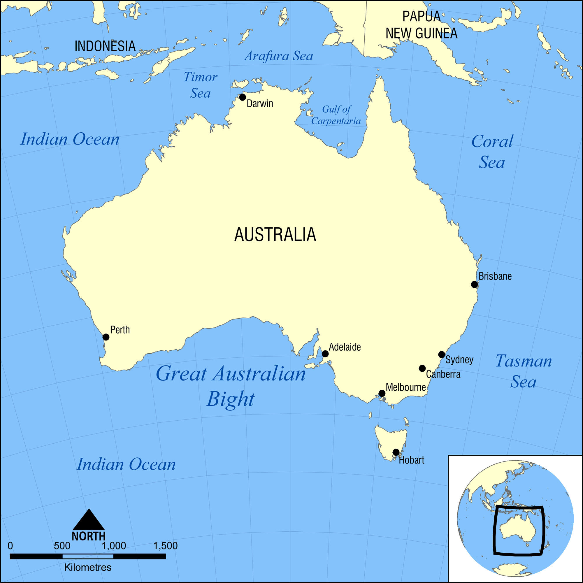 Australia West Coast Map.Great South Australian Coastal Upwelling System Wikipedia