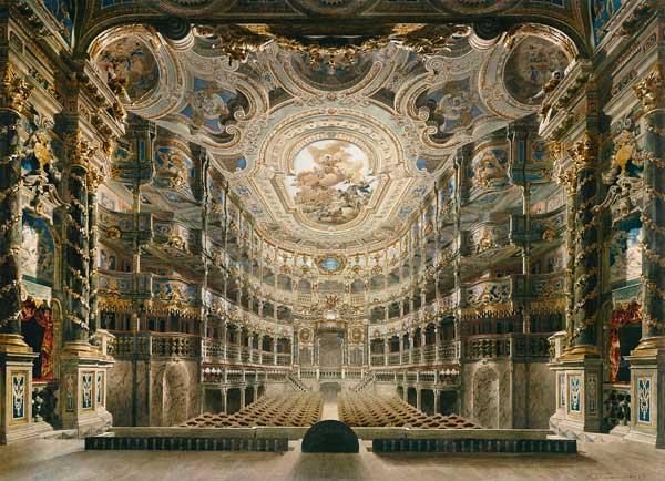 Gustav Bauernfeind Markgräfliches Opernhaus Bayreuth 1879