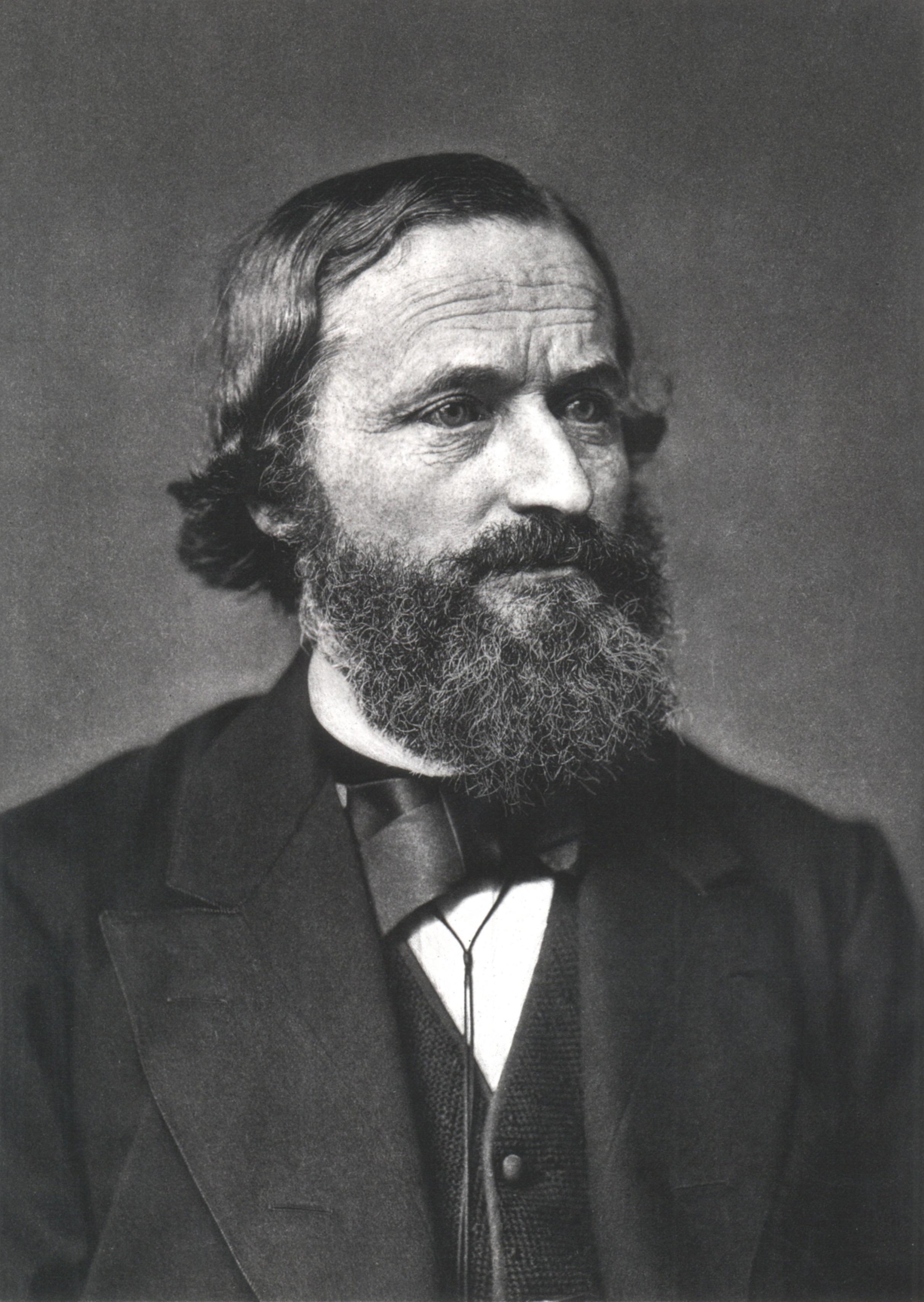 Depiction of Gustav Kirchhoff