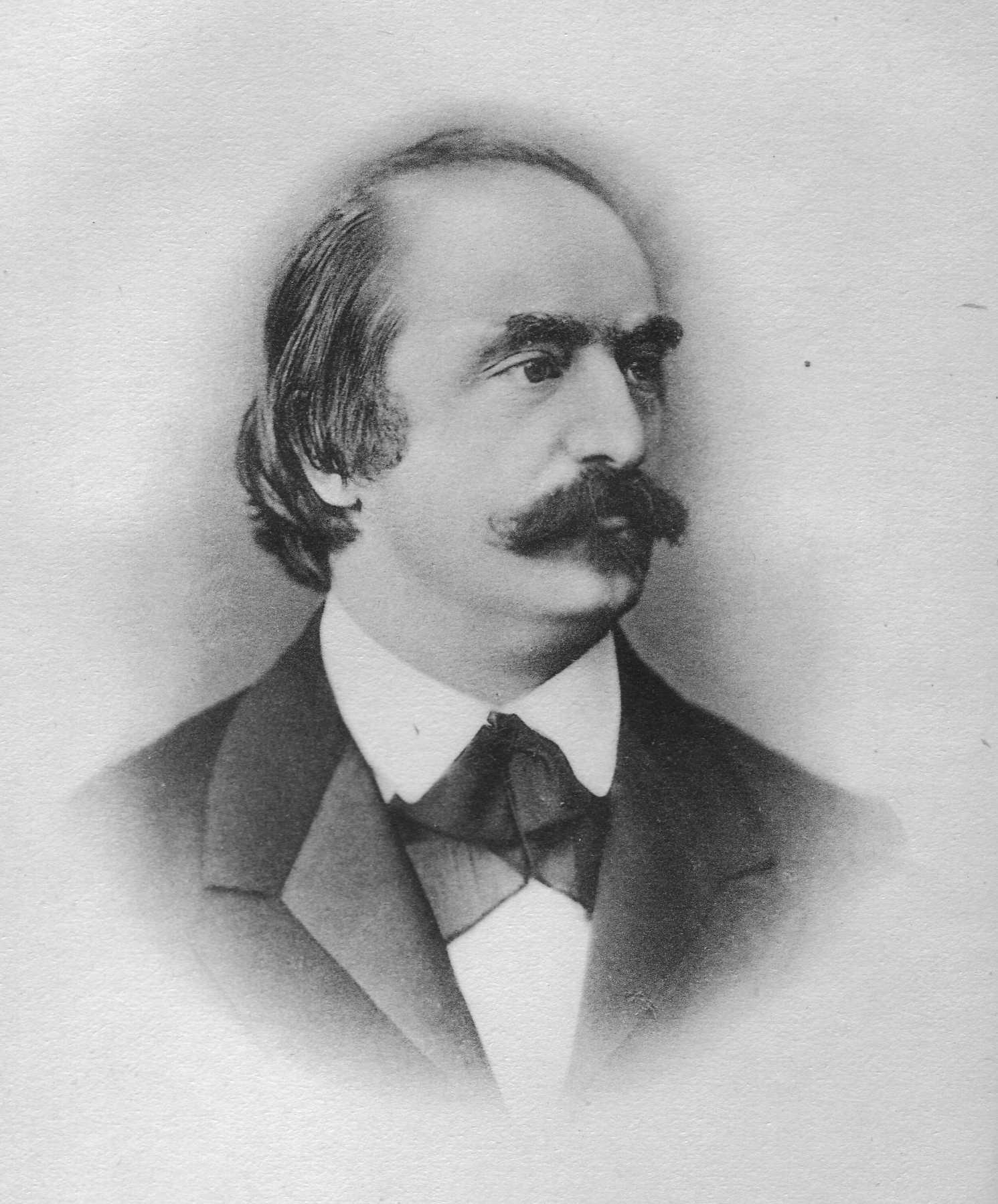 Portrait of Eduard Hanslick, 40 years old