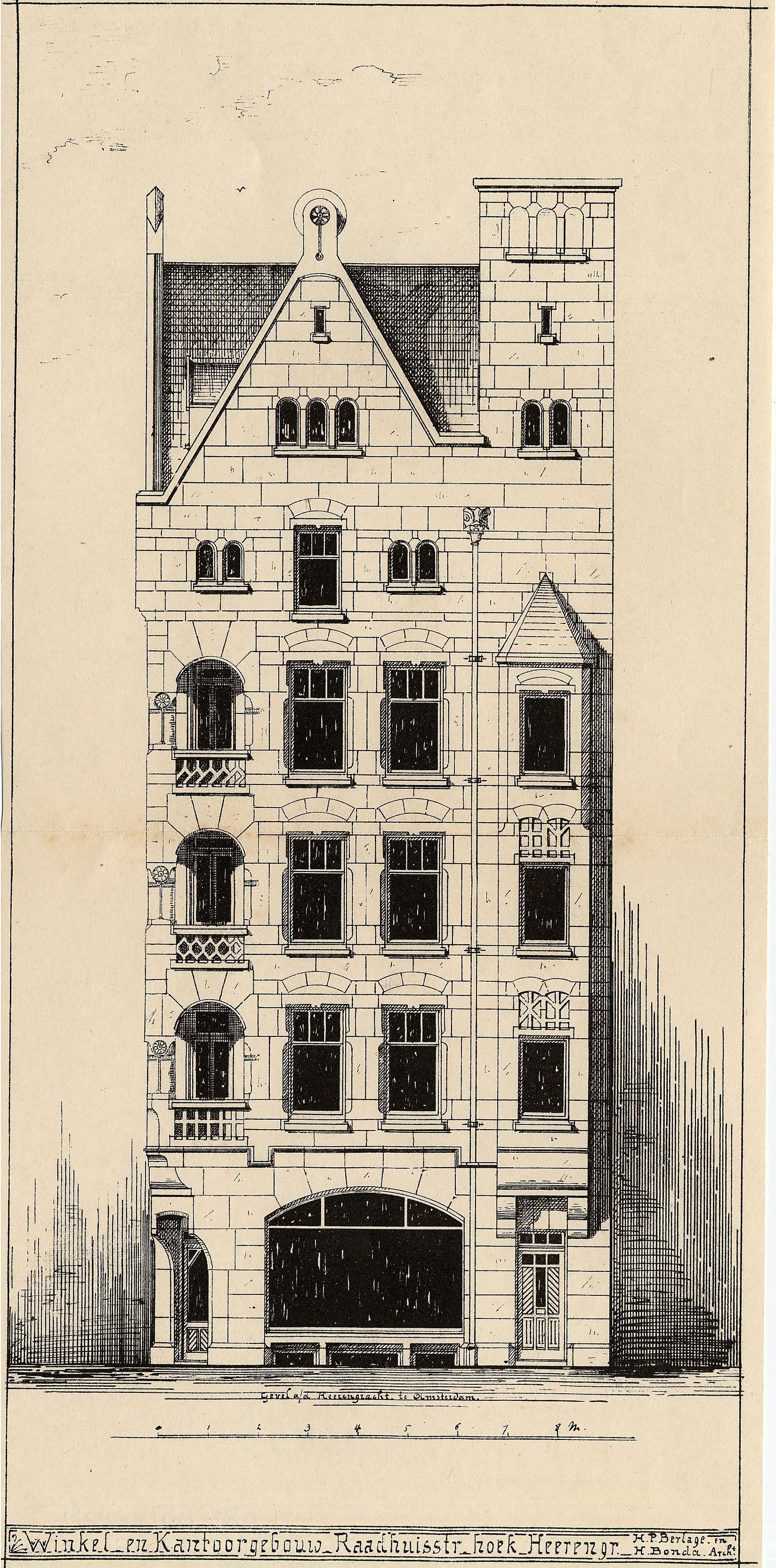 Filehendrik Petrus Berlage 1856 1934 Afb 010056000092