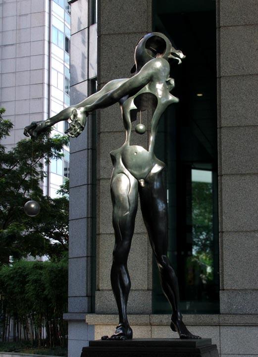 Сальвадор Дали Скульптура Посвящение Ньютону