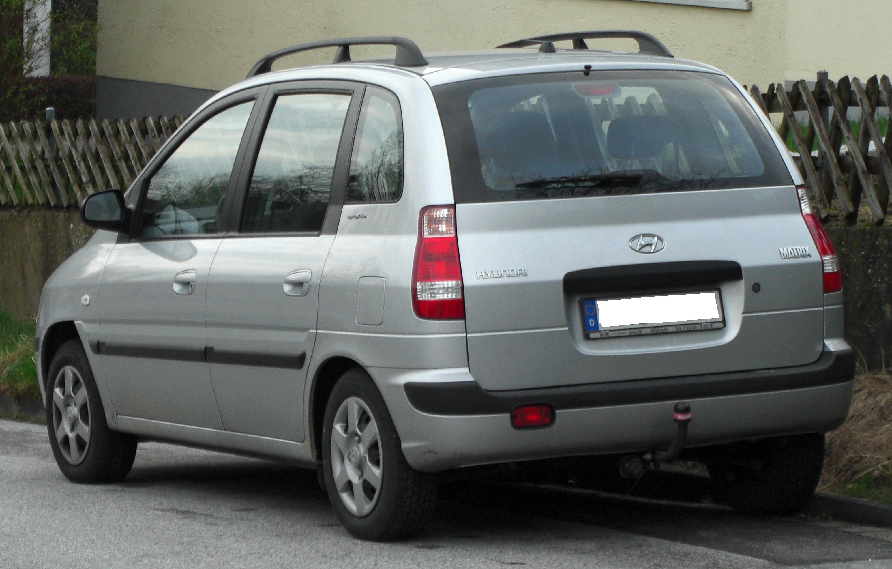 File:Hyundai Matrix Facelift rear jpg - Wikimedia Commons