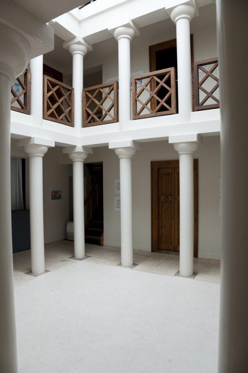 File interieur grieks huis op de via ori ntalis heilig land stichting 20531446 - Huis exterieur ...