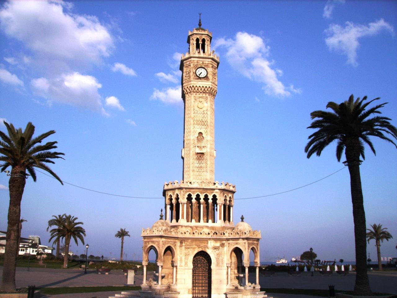 Fileizmir Saat Kulesi Panoramio Haluk Comertel 3jpg