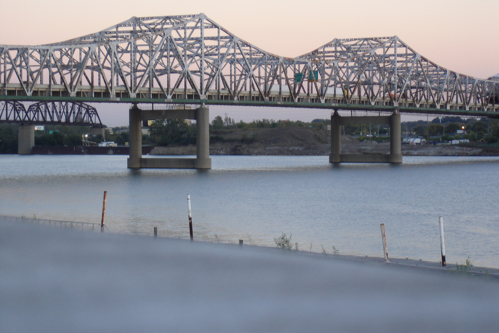 New Louisville Bridge Jfk Memorial Bridge Louisville