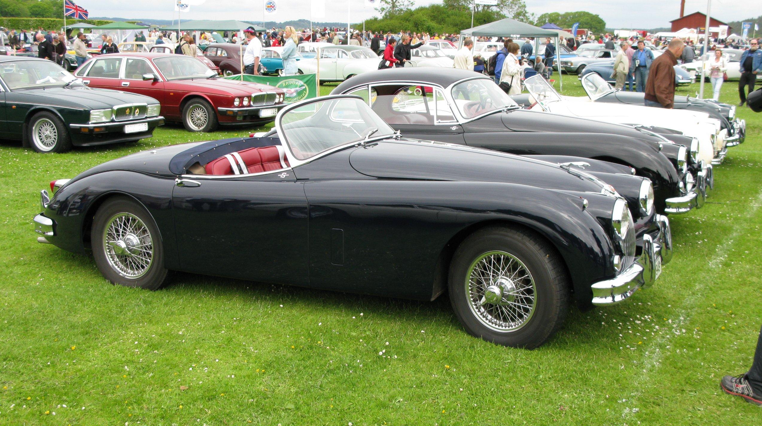 File Jaguar Xk150 Roadster Black Jpg Wikimedia Commons