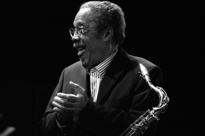 Depiction of Johnny Griffin