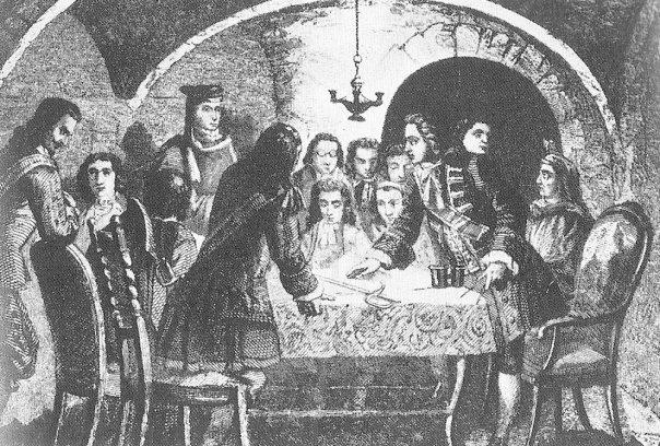 Fitxer:Junta de guerra de l'1 de Setembre de 1714,amb la participació d'Antoni Villarroel, Casanova i Basset.jpg