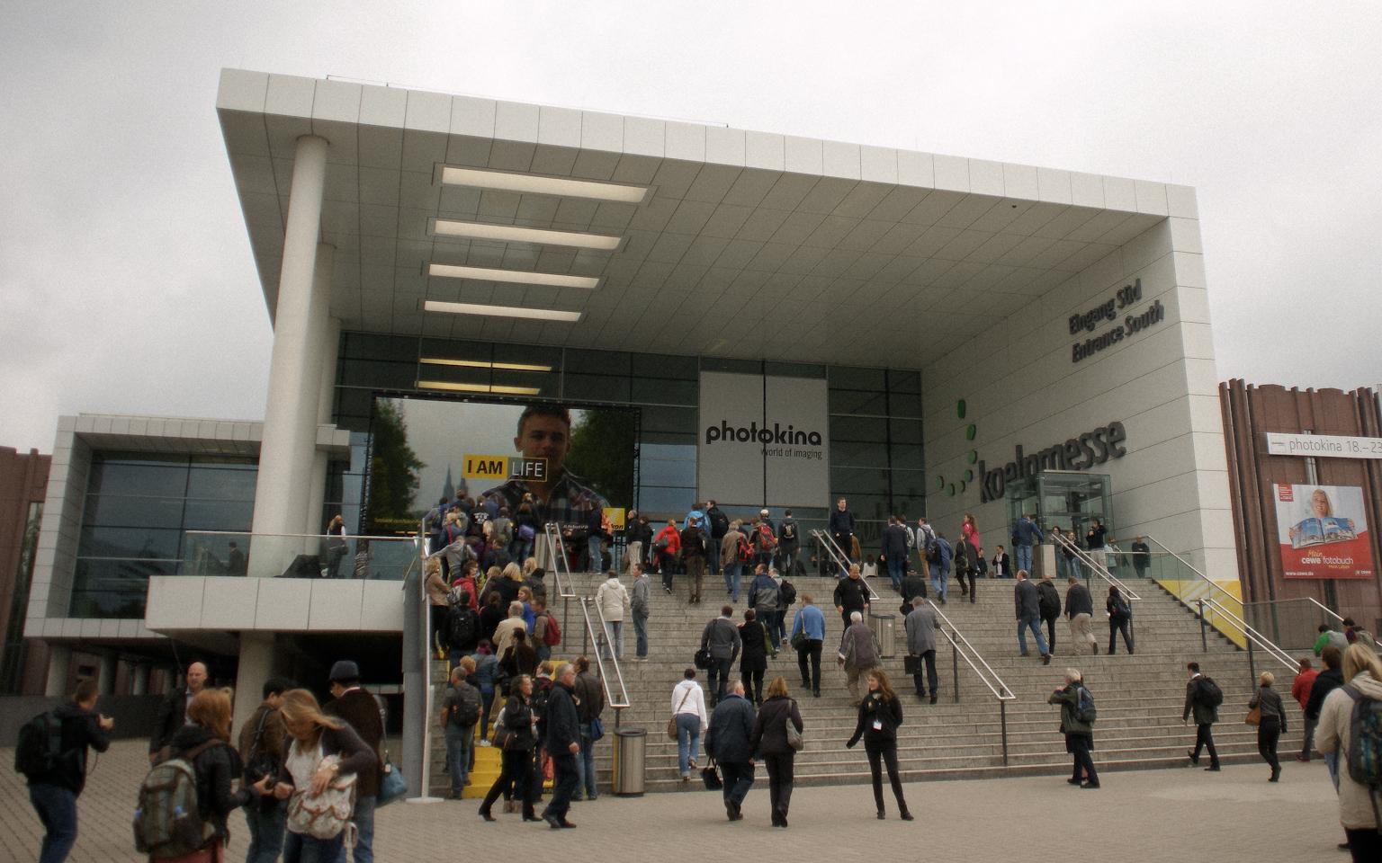 Messe Köln Eingang Ost
