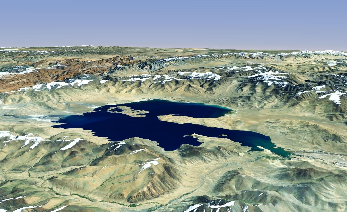 Karakul Lake Map File Karakul Lake World Wind