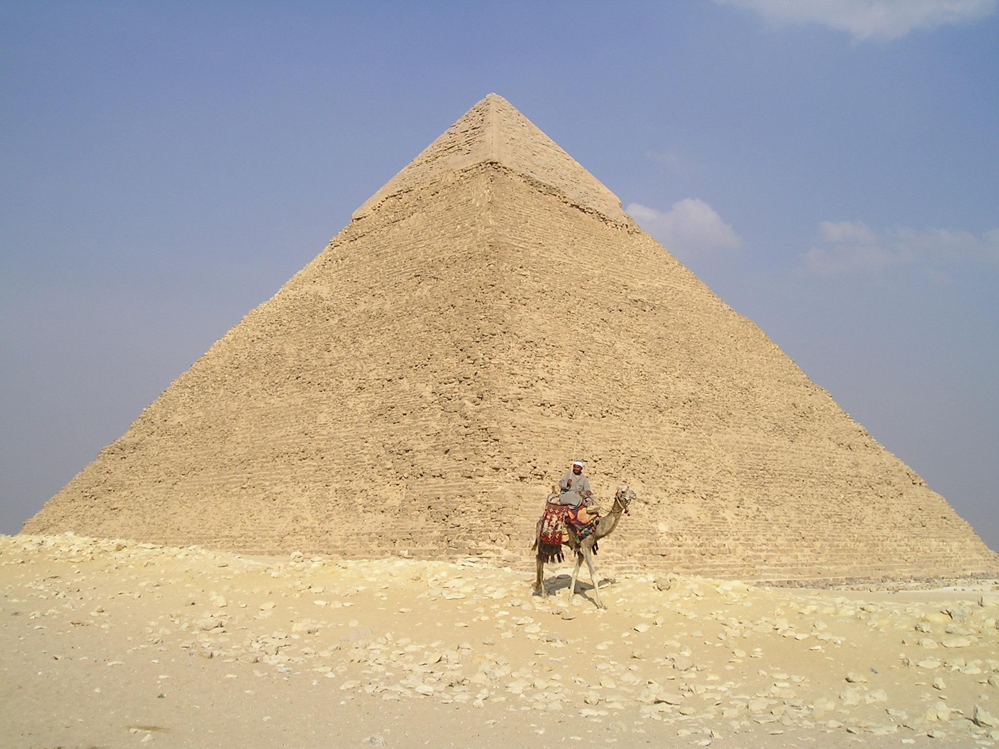 Isso é uma pirâmide no Egito, não uma pirâmide etária!
