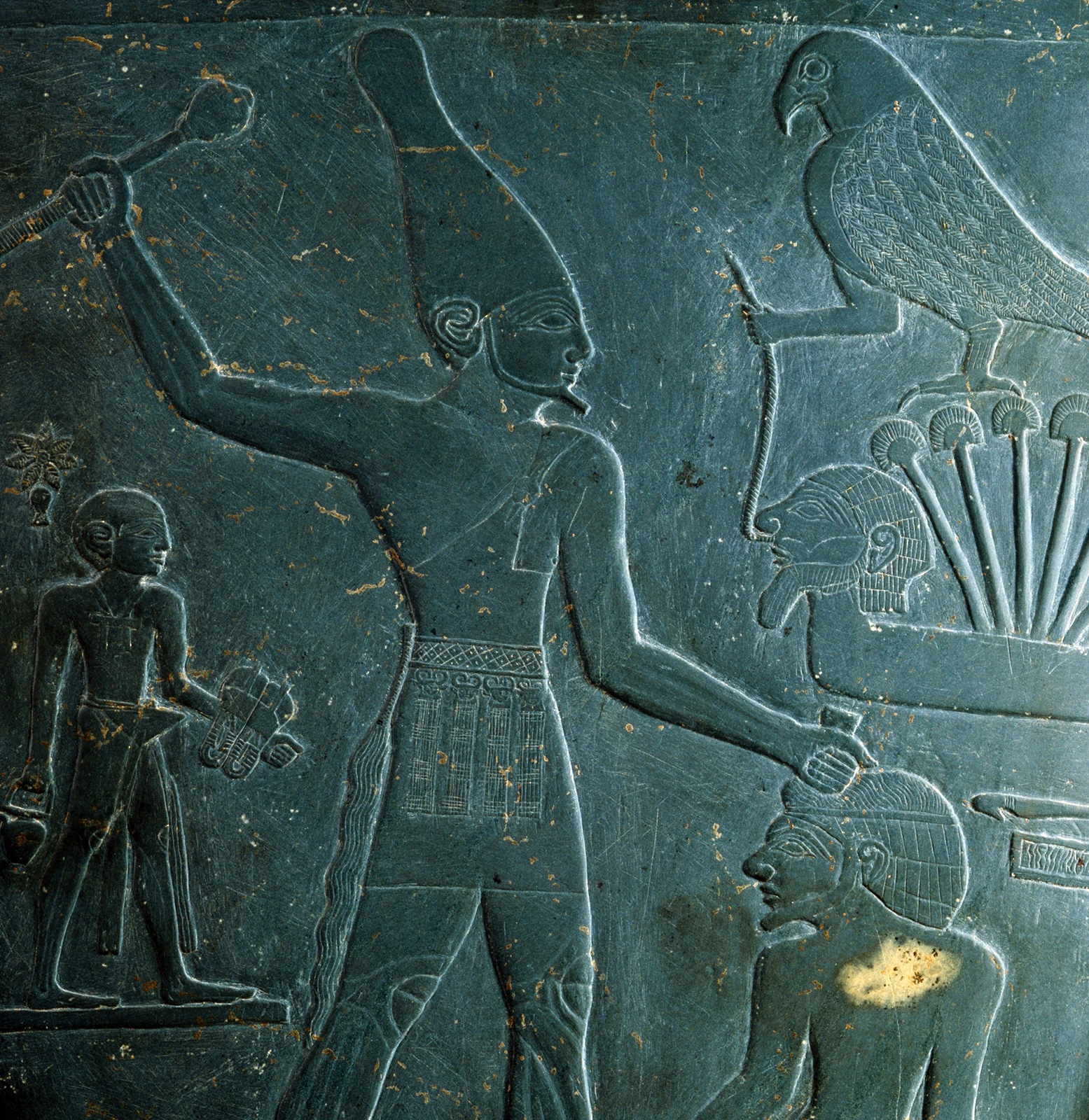 the importance of king narmers palette to egypt The narmer palette, also known as the great hierakonpolis palette or the palette of narmer, is a significant egyptian archeological find, dating from about the 31st century bc, containing some of the earliest hieroglyphic inscriptions ever found.