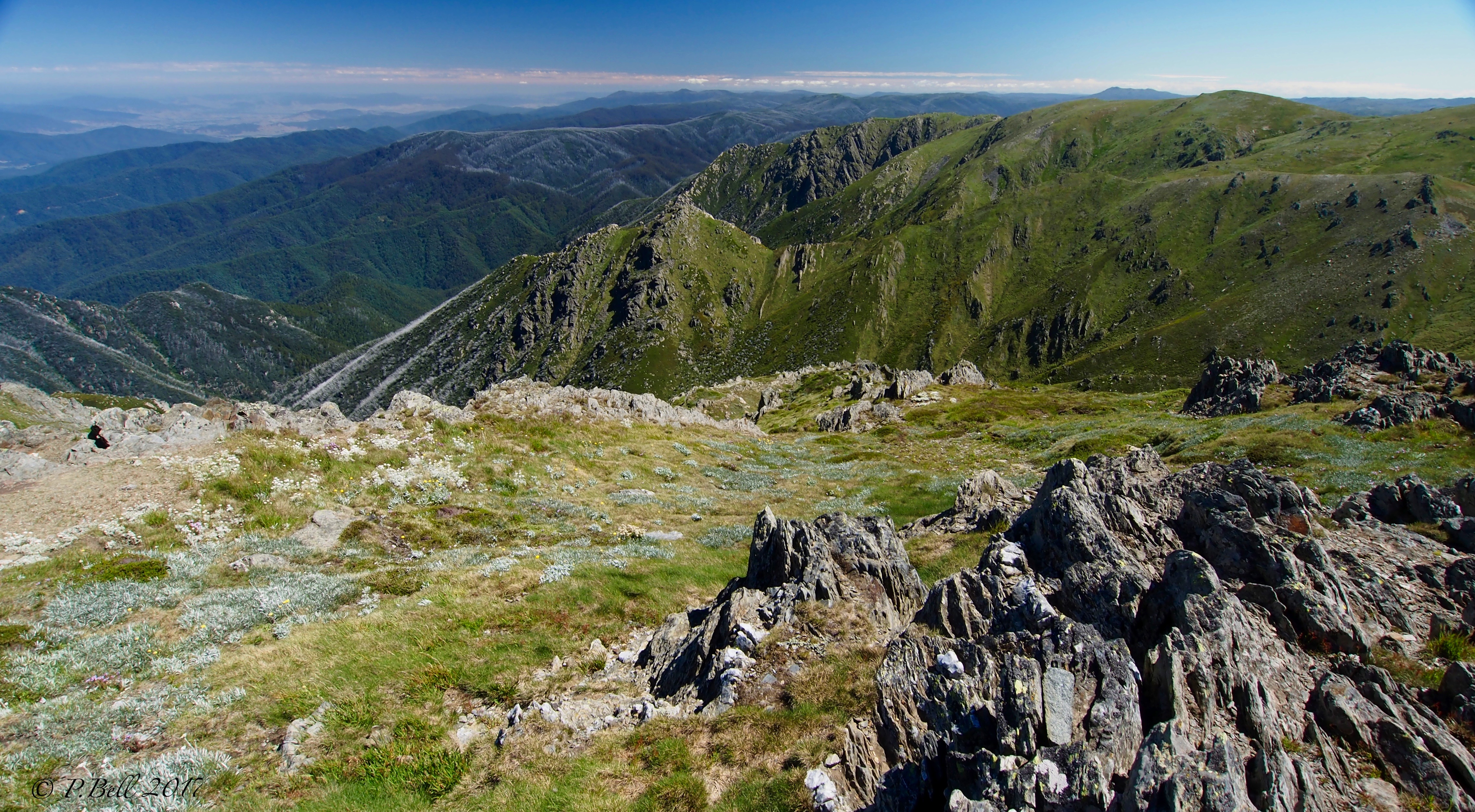 Kosciuszko National Park, Snowy Mountains in Summer