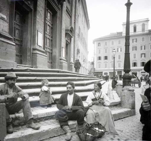 Kratky, Frantisek - Treppe in Rom 1897 - Quelle: WikiCommons