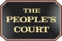 <i>The Peoples Court</i> American arbitration-based reality court show