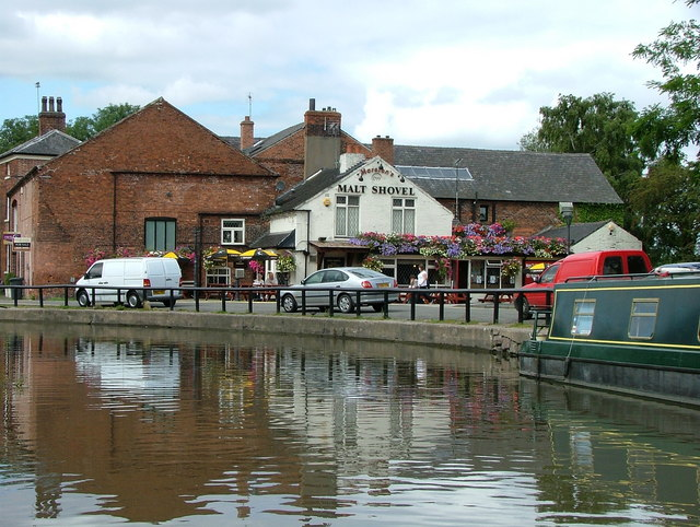Malt Shovel - Shardlow - geograph.org.uk - 539849
