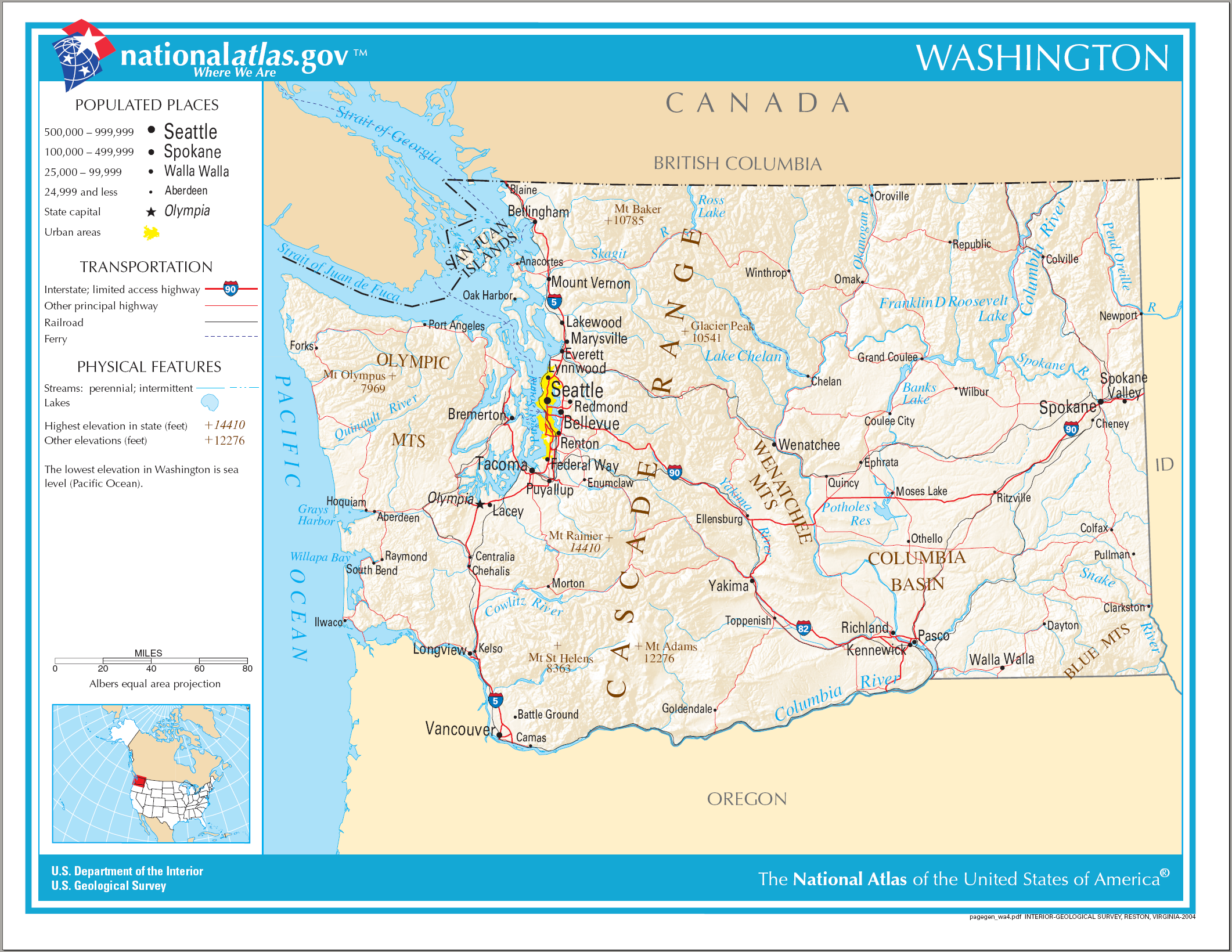 Washington (stato) - Wikipedia