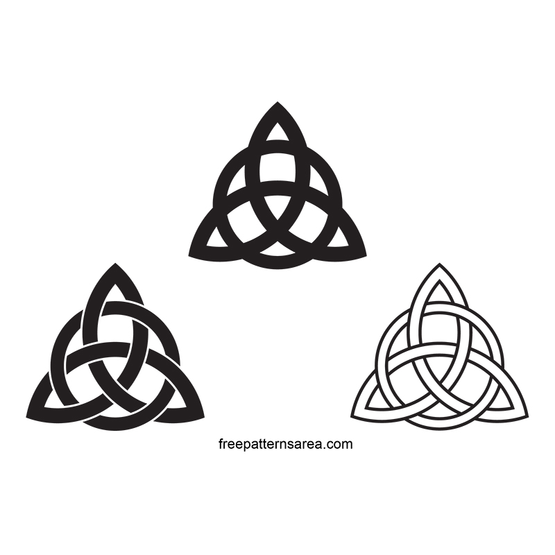 Filemeaning Of Celtic Trinity Knot Symbol And Free Templatejpg