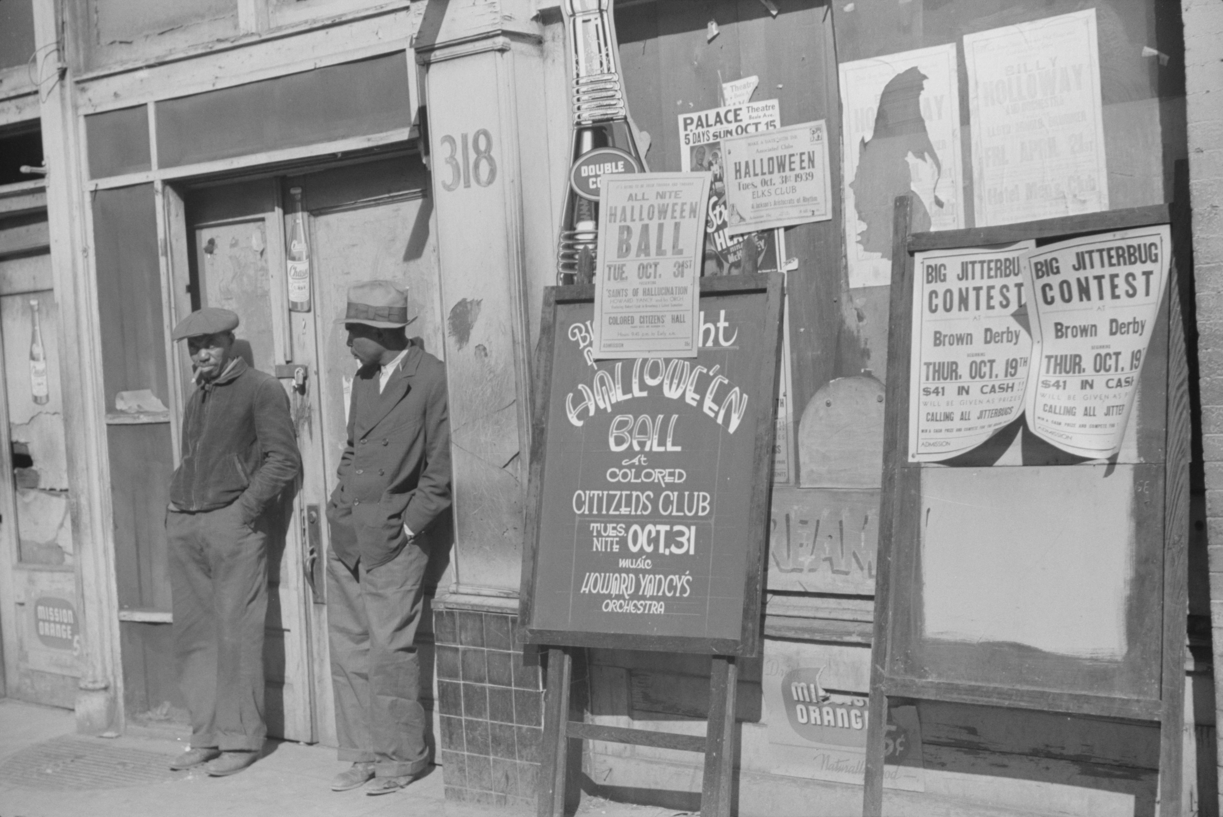 Memphis Halloween Beale 2020 File:Memphis, Tennessee, Beale Street, October 1939. (3110571760