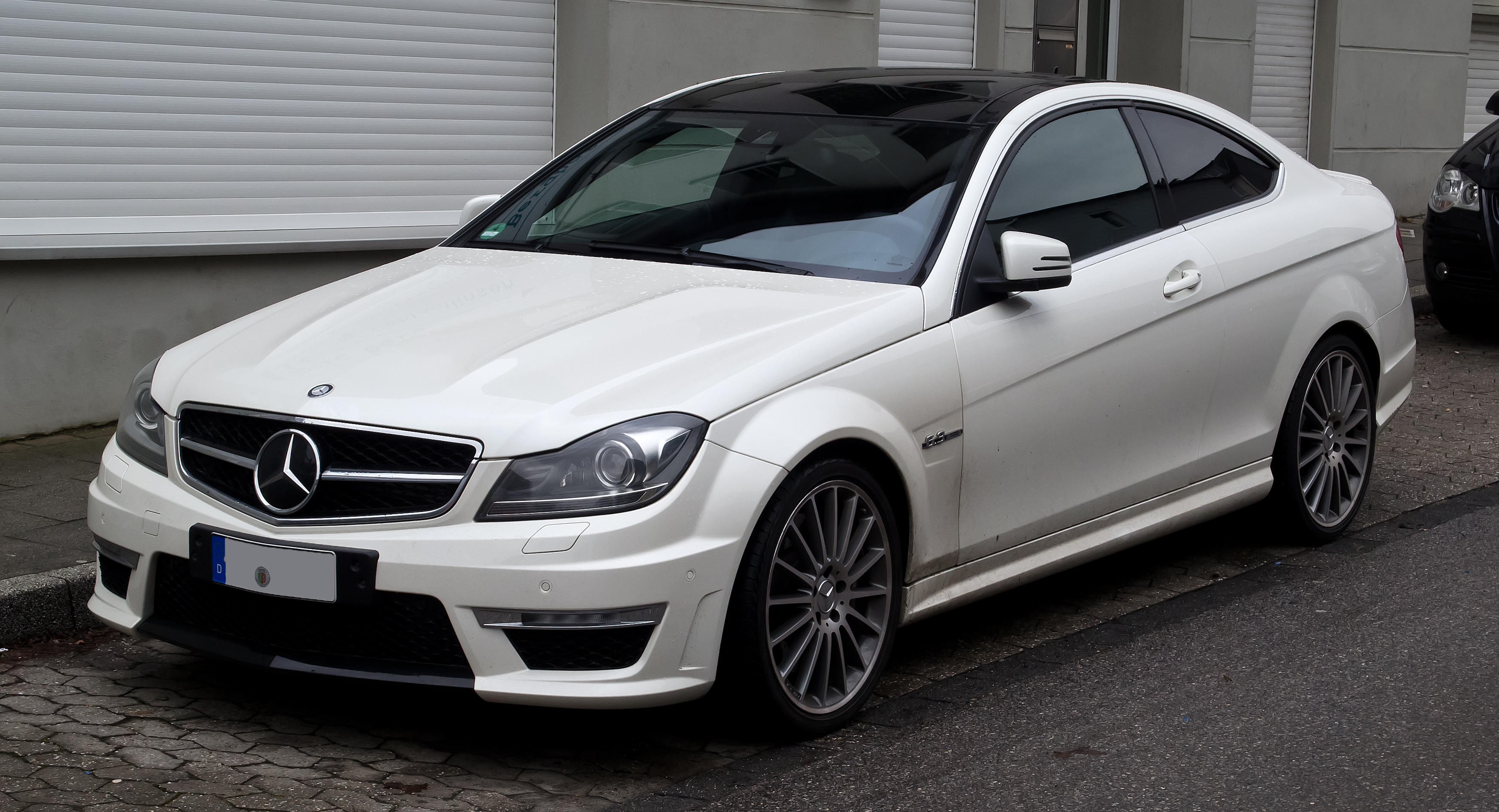 Mercedes C Coup Ef Bf Bd Blanche
