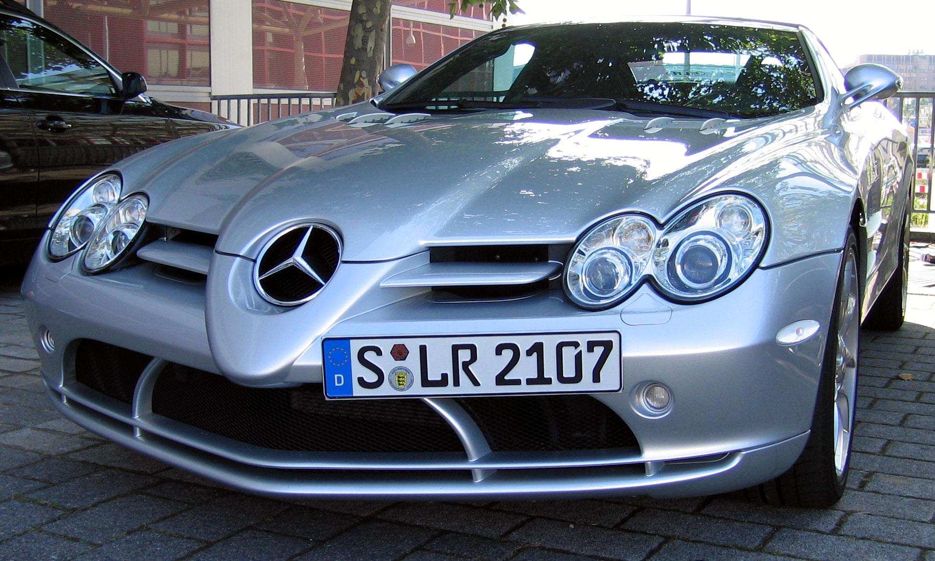 MercedesBenz SLR McLaren