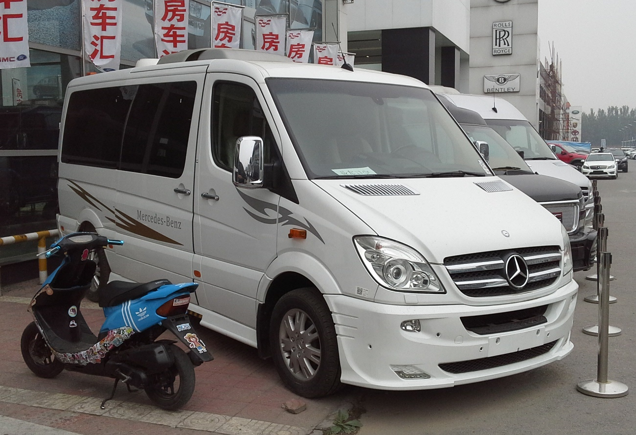 c364adb5362a9b File Mercedes-Benz Sprinter W906 China 2014-04-24.jpg - Wikimedia ...