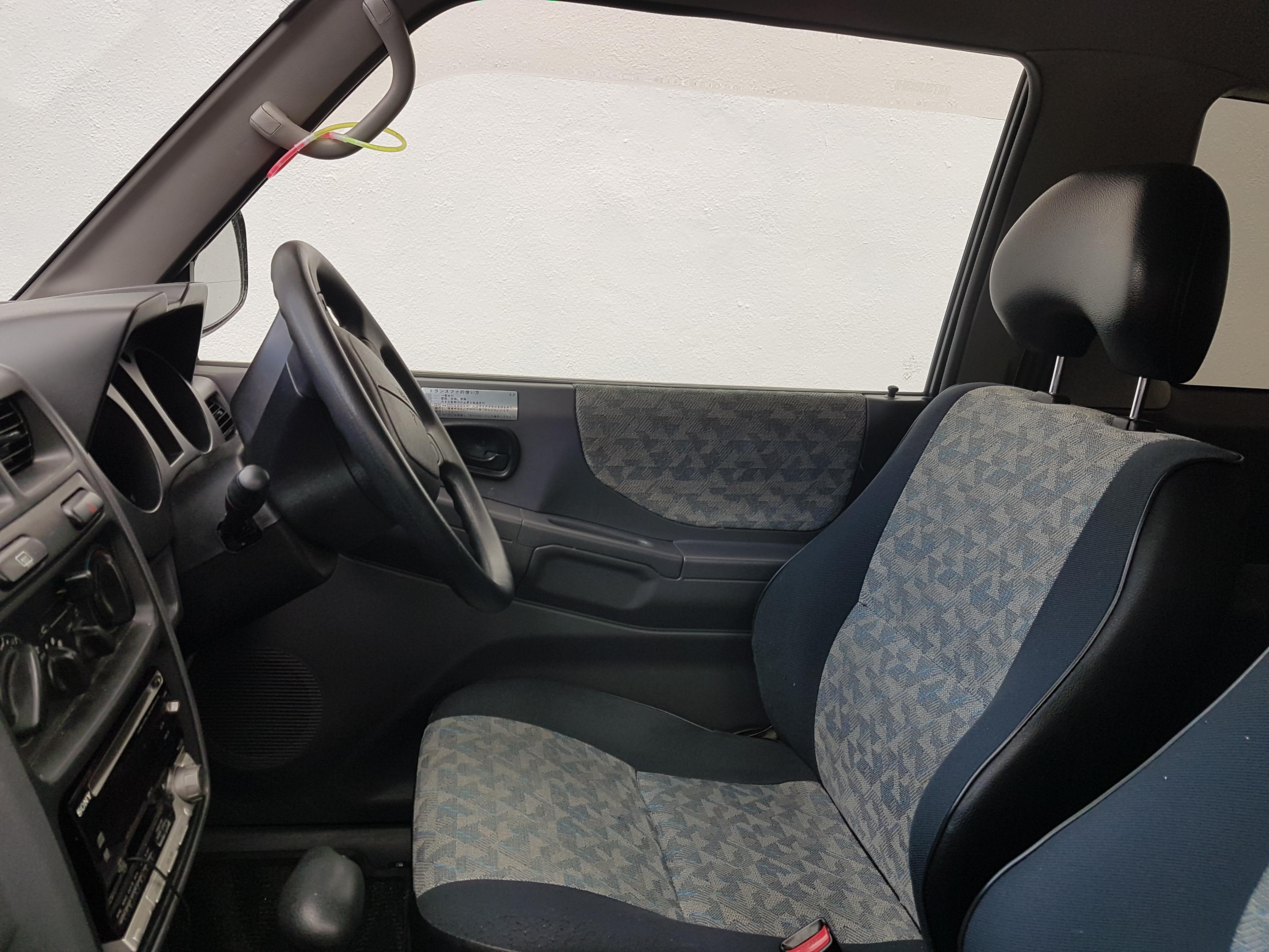 File:Mitsubishi Pajero Mini interior - Flickr - dave 7 jpg