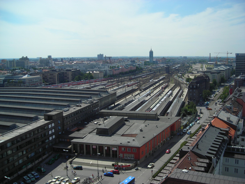 Münchner Hauptbahnhof