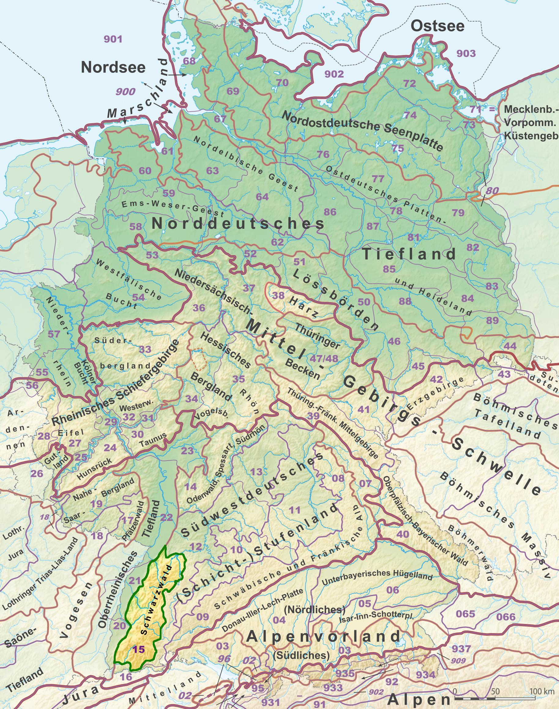 Wanderwege Deutschland Karte.Wanderwege Schwarzwald Karte Hanzeontwerpfabriek