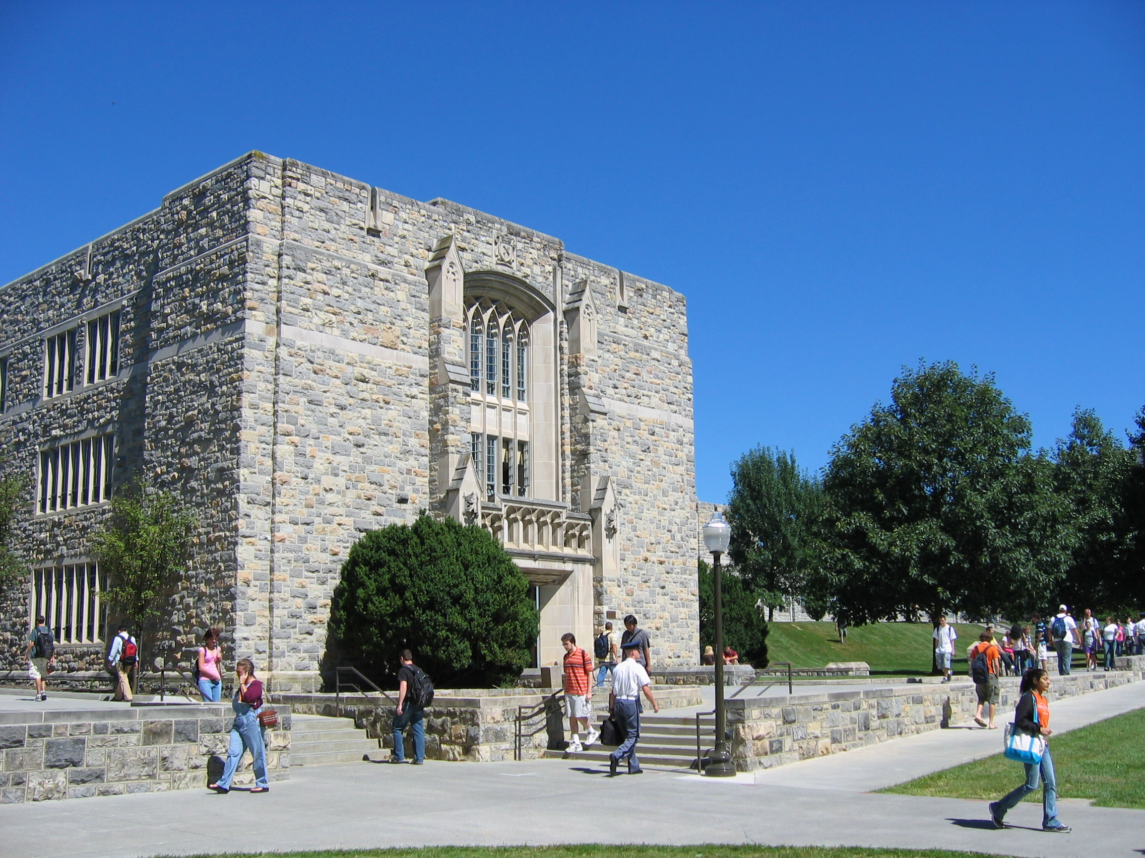 Norris Hall at Virginia Tech