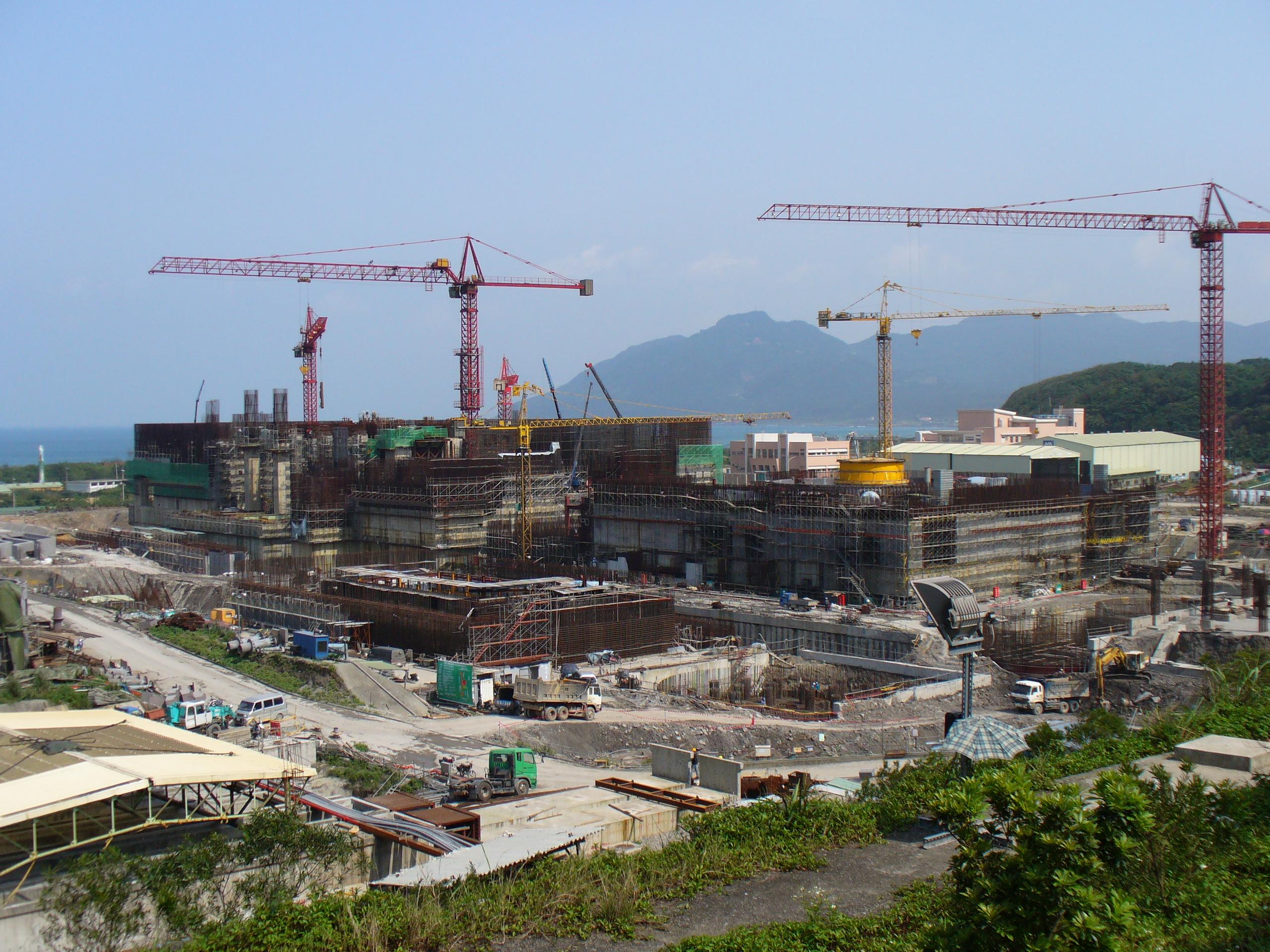 Description nuclear power plant lungmen