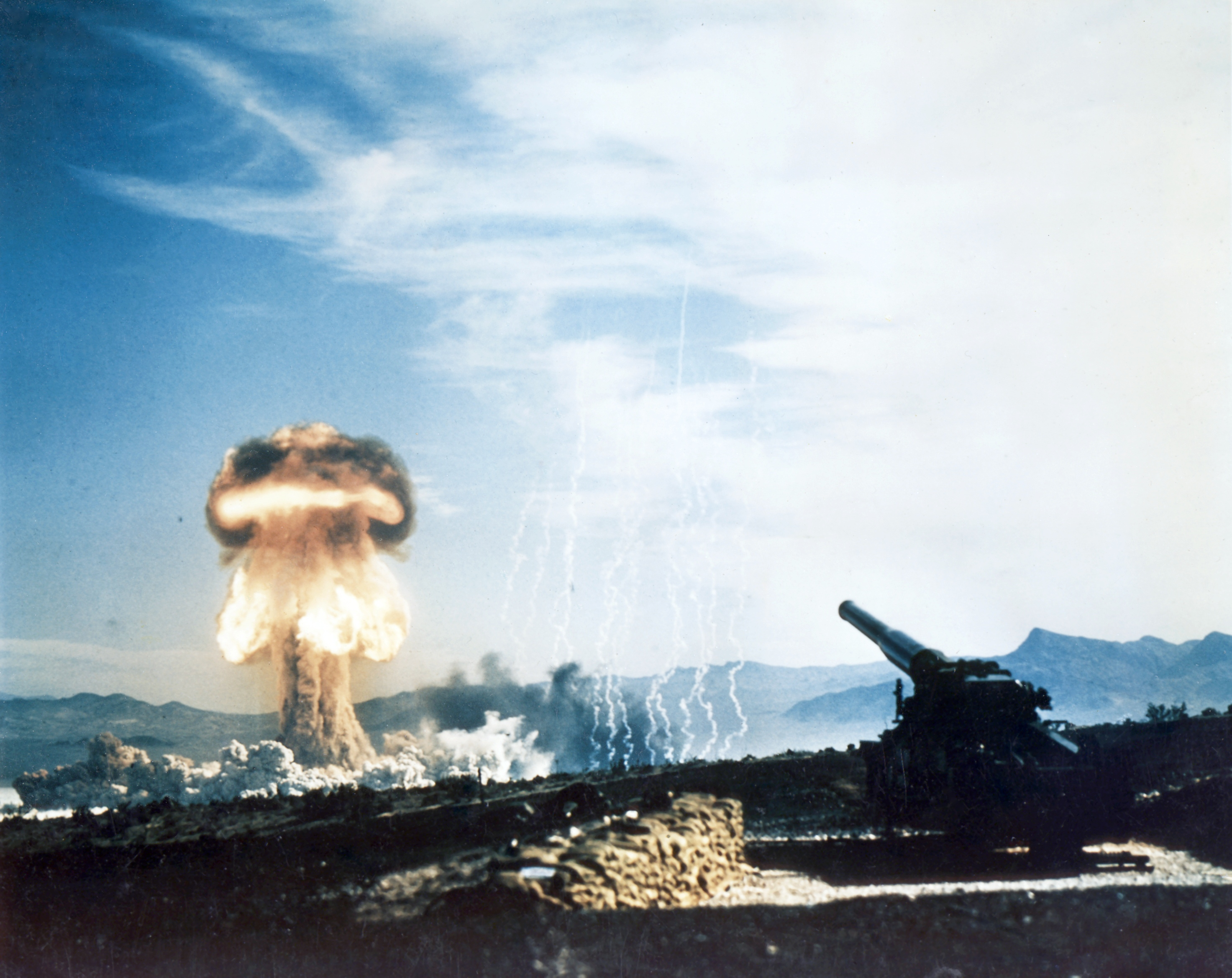 File:Nuclear artillery test Grable Event - Part of Operation ...