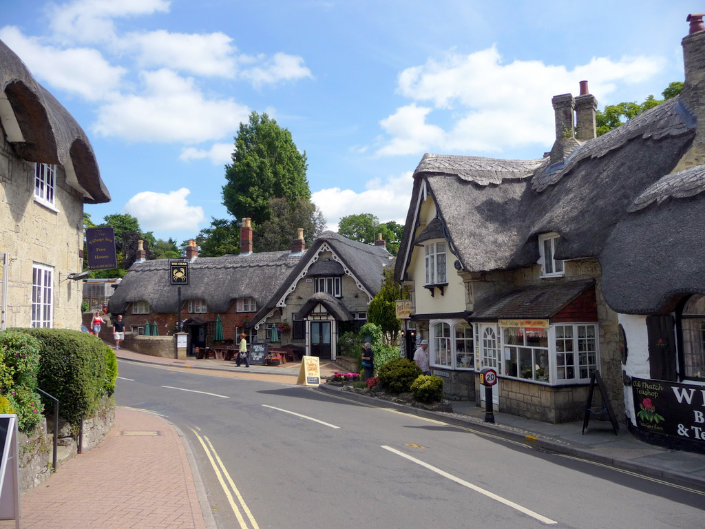 File Old Village Shanklin Isle Of Wight Geograph Org