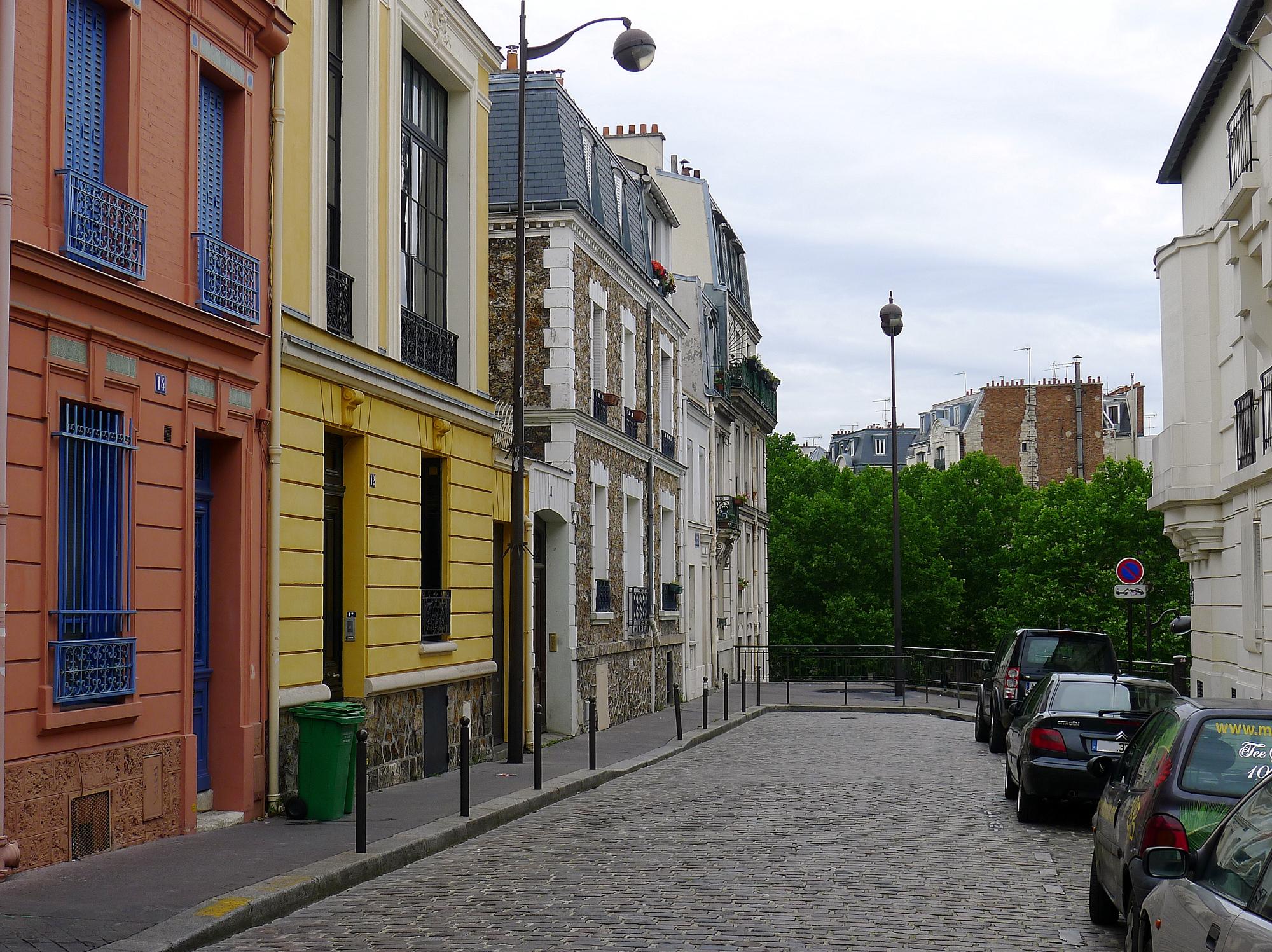 File p1110182 paris xiv rue des artistes rwk jpg wikimedia commons - Maison des artistes paris ...