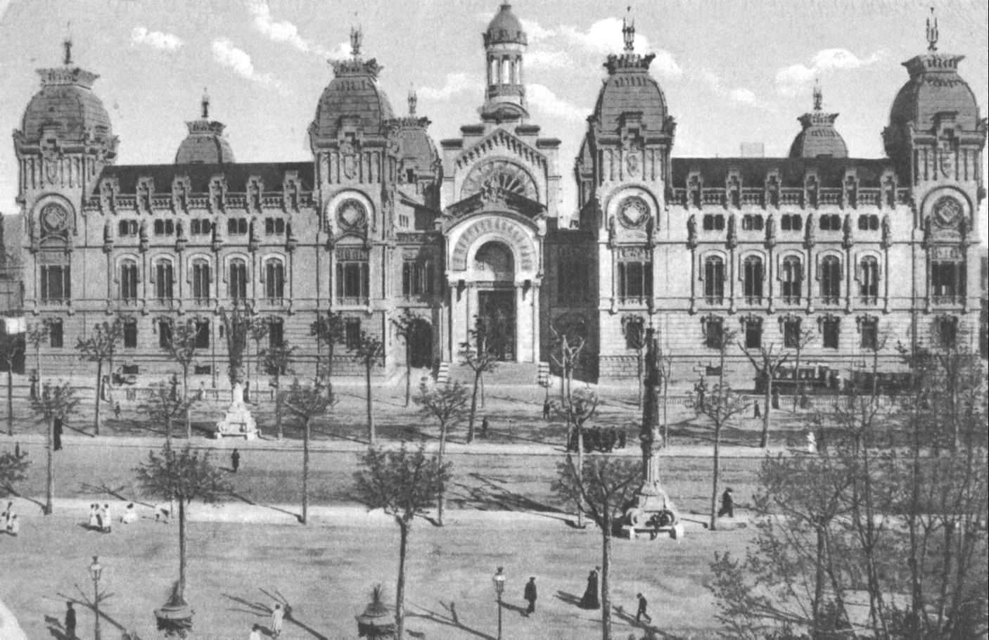 Resultado de imagen de palacio de justicia barcelona exposicion 1888