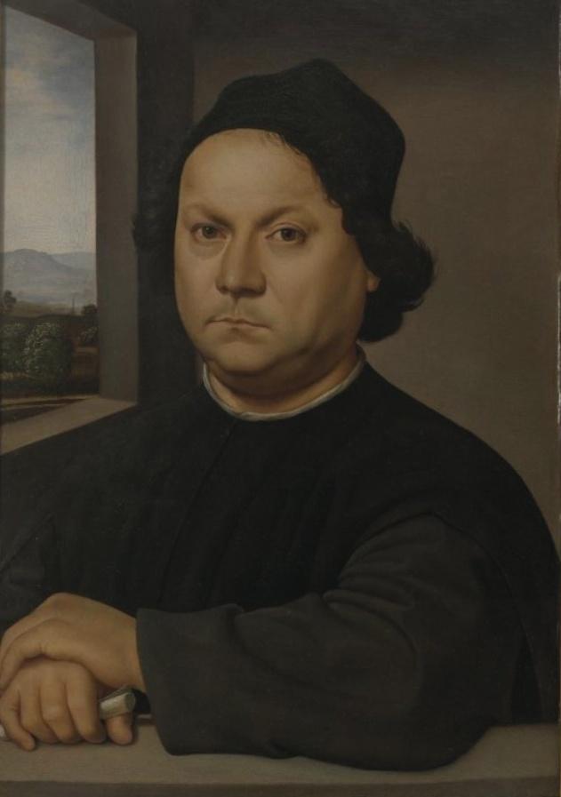portrait of perugino  raphael